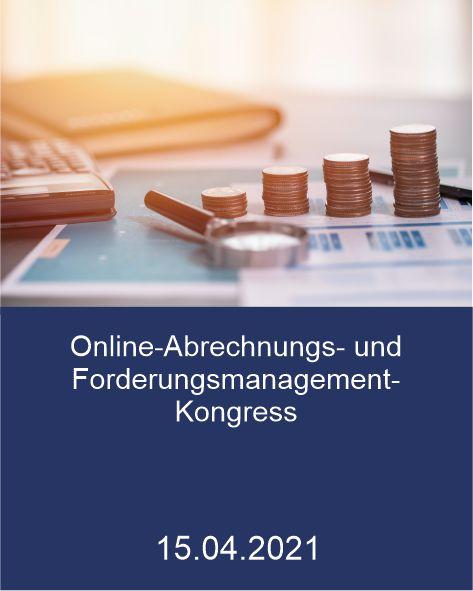 Online Abrechnungs- und Forderungsmanagement-Kongress