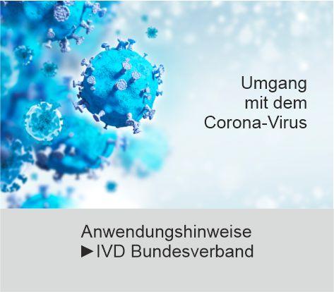 IVD Bundesverband: Empfehlung Umgang mit Corona