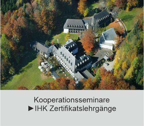 Kooperationsseminare IHK München Akademie Westerham